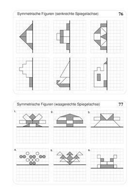 symmetrische figuren spiegeln verlage der westermann gruppe