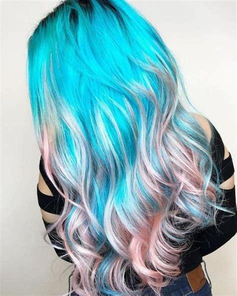 25 Best Unicorn Hair Color Ideas On Pinterest