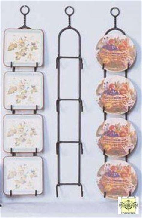 plate racks simple wrought iron  place hanger  small plates mini plate display hangers
