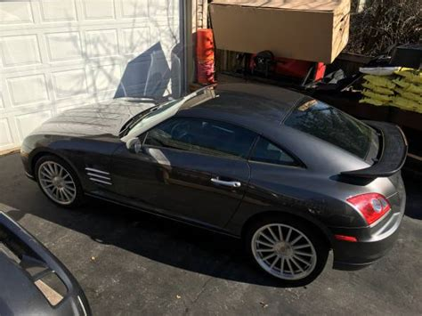 2005 chrysler crossfire coupe srt 6 graphite gray low 38k