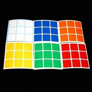 set standard 3x3 adesivi magic cube sostituzione With 3x3 labels