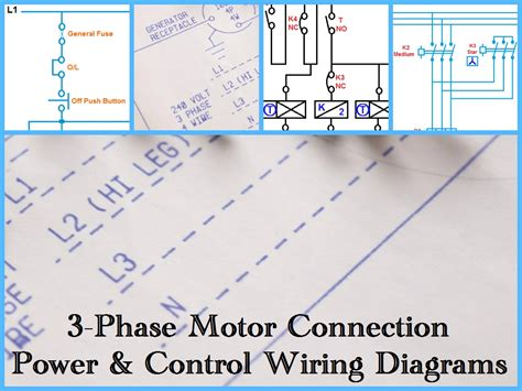 three phase electrical wiring diagram diagram three phase motor power control wiring diagrams on 3 wire