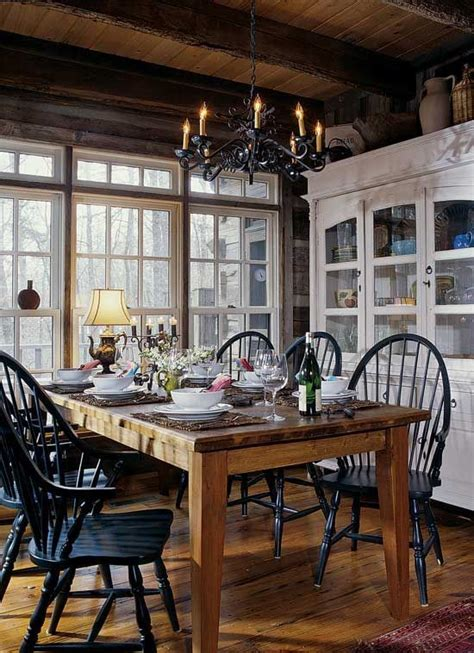 create  rustic dining space  key ingredients