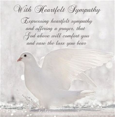 quotes  sympathy  loss quotesgram
