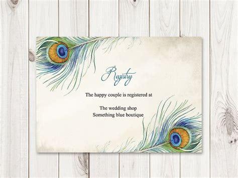"12 best Boho Wedding Invitation Templates ""Peacock Feather"