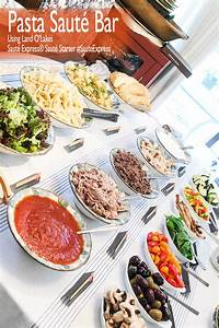 Pasta Bar Quick Dinner IdeasRecipes