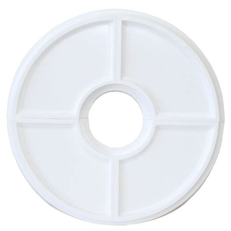 westinghouse split ceiling medallion westinghouse 77034 16 quot medallion split design white