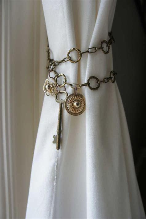 curtain tie back pins extraordinary tiebacks ideas backs