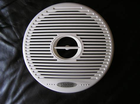 Boat Speaker Covers clarion speaker cover the hull boating and