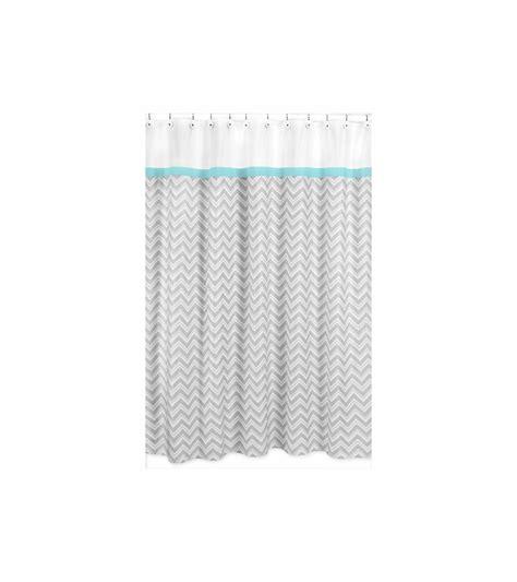 sweet jojo chevron curtains sweet jojo designs zig zag turquoise grey chevron shower