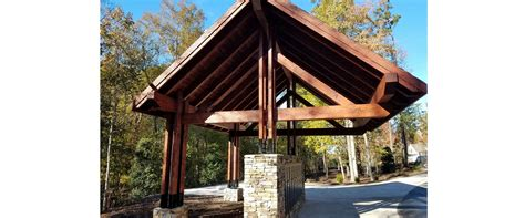 heavy timber pavilions pergolas barns  outdoor