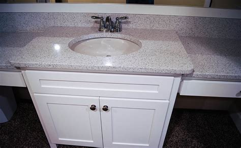 Cambria Vanity by Quartz Cambria With A 3cm Eased Edge For S