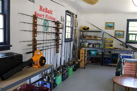 Bass Boat Garage Ideas by Garage Rod Tackle Storage Ideas The Hull