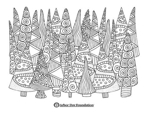 coloring pages  arbordayorg
