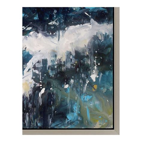 abstract painting images whitecaps wall d 233 cor w frame products moe s usa 1142