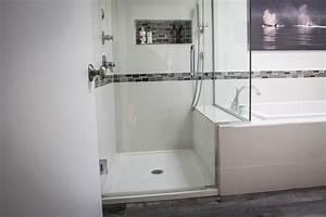 Side By Side Design : shower and tub side by side griggs building design group ~ Bigdaddyawards.com Haus und Dekorationen