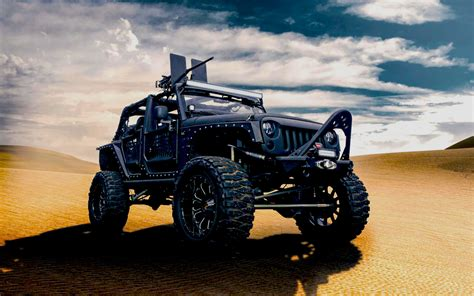 Jeep Wrangler For Army Wallpaper