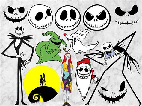 Jack Nightmare Before Christmas Svg Free – 234+ DXF Include