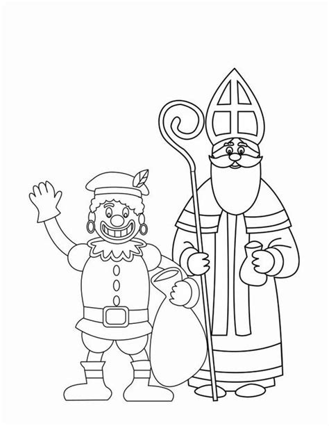 Kleurplaat 10 Plus by Kleurplaat Zwarte Piet En Sinterklaas 2 Afb 16170 Images