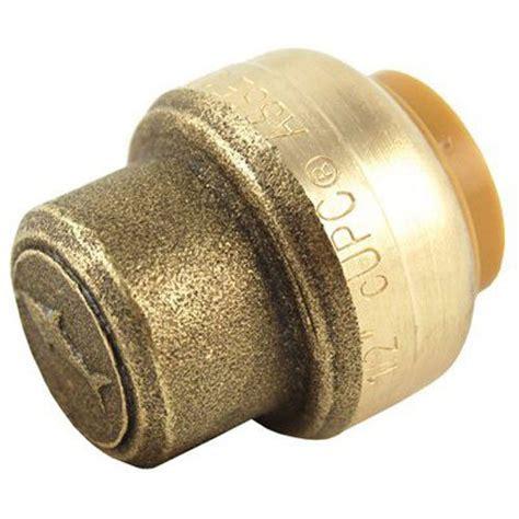 sharkbite    cap push  connect pex copper cpvc freebumble