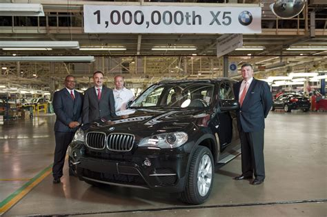 Bmw Builds One Millionth X5 Suv At South Carolina Plant