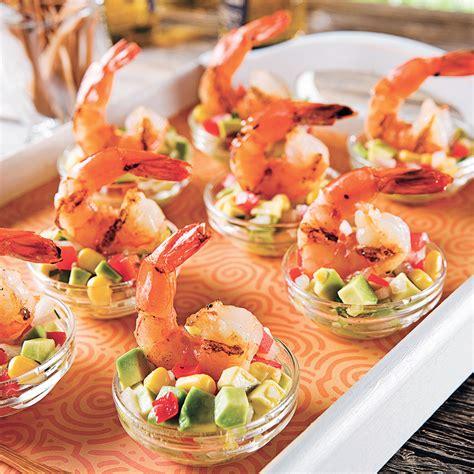 cuisine crevette crevettes à la lime et salsa mexicaine recettes cuisine et nutrition pratico pratique