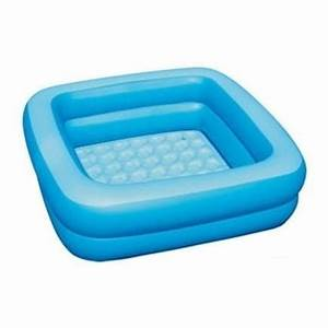 Baignoire Pour 2 : baignoire de douche carree bleue gonflable pour bebe ~ Edinachiropracticcenter.com Idées de Décoration
