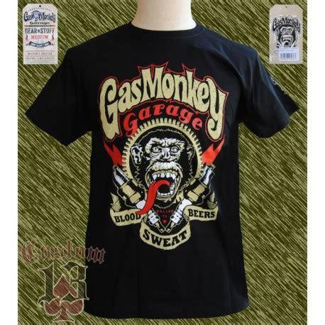 camiseta oficial gas monkey sparkplugs custom