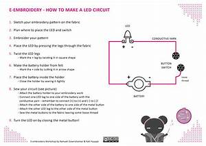 Led Circuit And Battery Holder Tutorials