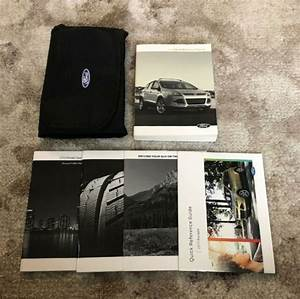 2013 Ford Escape Owners Manual With Case Oem Free Shipping