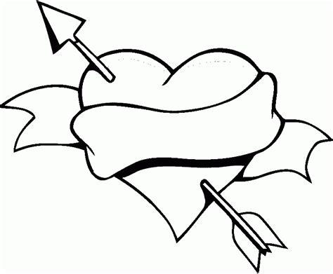 dibujos de corazones de amor  colorear pintar  imprimir