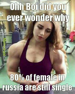 Russian Girl Meme - the best bodybuilder memes memedroid