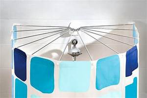 Duschvorhang Bei Dachschräge : duschvorhang flexible l sung f r badewanne und dusche sch ner wohnen ~ Sanjose-hotels-ca.com Haus und Dekorationen