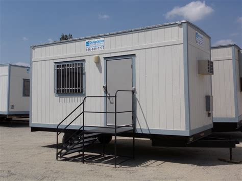 Used Staircase For Sale by This 8x20 Mobile Office Trailer Is Outfitted With A