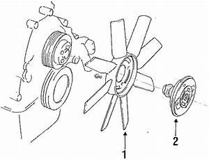 Ford Ranger Engine Cooling Fan Clutch Blade  Engine