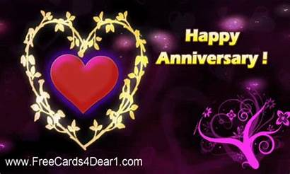 Anniversary Animated Happy Greetings Cards Wishes Ecard