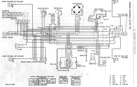 wiring diagram for honda trail 90 for honda ct200 trail 90 came to me wiring disconnected from battery do you have diagram also