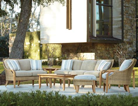 edgewood  lane venture teak wicker outdoor furniture