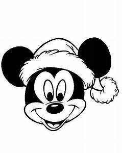 DISNEY COLORING PAGES: MICKEY MOUSSE CHRISTMAS COLORING ...