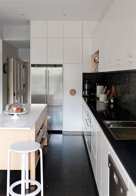 black  white kitchens ideas  inspirations