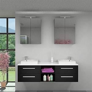 Waschtisch Mit Unterschrank 160 Cm : waschtisch mit waschbecken unterschrank city 307 160cm esche schwarz ebay ~ Bigdaddyawards.com Haus und Dekorationen
