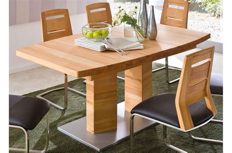 table en bois massif contemporaine 180 270 cm trendymobilier