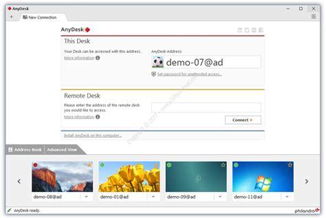 any desk free download دانلود anydesk free v3 5 0 نرم افزار کنترل سیستم از راه