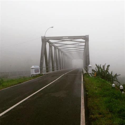 jembatan bumijawa  berkabut infotegal