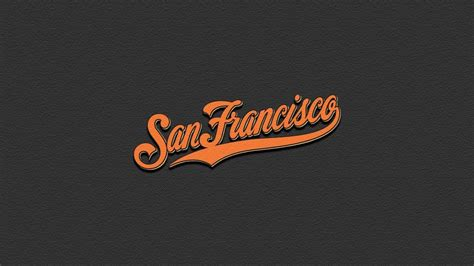 Giants Background San Francisco Giants Logo Wallpapers Wallpaper Cave