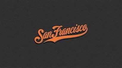 Giants Francisco San Wallpapers Sf Desktop Pc