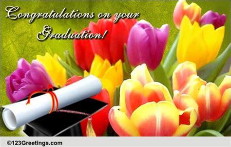 congratulate  graduate  flowers  congratulations