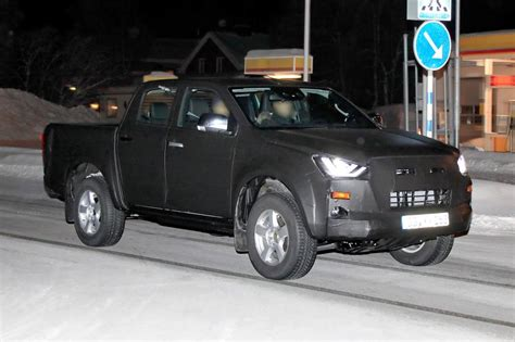 Isuzu D Max Picture by New 2020 Isuzu D Max Up Spotted Winter Testing