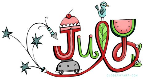 Image result for july clipart