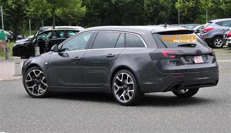 Opel Wagon by Opel Insignia Opc Wagon Spied Photos 1 Of 6